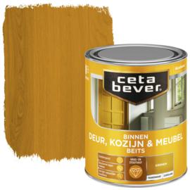 CetaBever Deur-, Kozijn- en Meubelbeits Grenen Zijdeglans 750 ml
