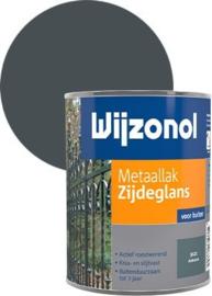Wijzonol Metaallak Zijdeglans 9121 Antraciet 750 ml