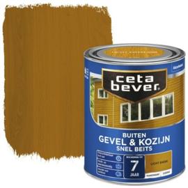 Cetabever Snel Beits Gevel & Kozijn Transparant Licht Eiken 750ml