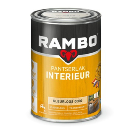 Rambo Pantserlak Interieur Kleurloos 0000 ZIJDEGLANS 1,25 Liter