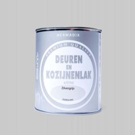 Hermadix  Deuren en Kozijnenlak Zilvergrijs 750 ml