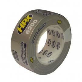 HPX Pantser Duct Tape 6200 Grijs 48 mm 25 Meter