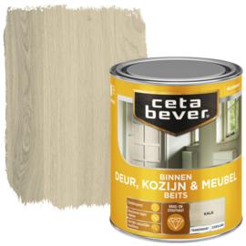 CetaBever Deur-, Kozijn- en Meubelbeits Kalk Zijdeglans 750 ml