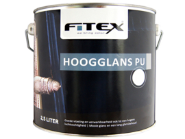 Fitex Hoogglans PU Lak 2,5 Liter