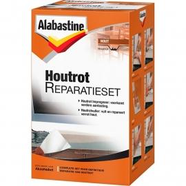 Alabastine Houtrot Vuller Set 500 gram + 1 x 125 ml Houtrotstop