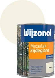Wijzonol Metaallak Zijdeglans RAL 9001 750 ml