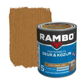 Rambo Pantserbeits Deur en Kozijn Transparant Zijdeglans Licht Eiken 1202 750 ml