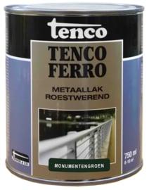 Tenco Ferro Roestwerende IJzerverf  Zijdeglans Monumentengroen 750 ml