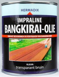 Hermadix Impraline Bangkirai Olie Transparant Bruin 750 ml