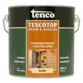 Tencotop Deur & Kozijn Transparant Halfglans Blank 2,5 Liter