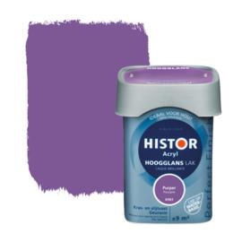 Histor Perfect Finish Lak Acryl Purper 6983 Hoogglans 750 ml