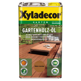 Xyladecor Gartenholz-öl Natur Dunkel 2,5 Liter