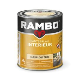 Rambo Pantserlak Interieur Kleurloos 0000 MAT 750 ml