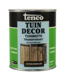 Tenco Tuindecor Transparant Donkerbruin 1 Liter