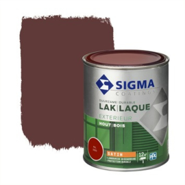 Sigma Lak Exterieur Hout Zijdeglans RAL 3005 750 ml