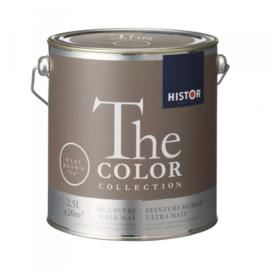 Histor The Color Collection Hare Brown 7507 Kalkmat 5 liter