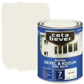 Cetabever Snel Beits Gevel & Kozijn Dekkend RAL 9010 750ml