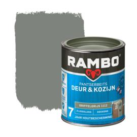 Rambo Pantserbeits Deur en Kozijn Dekkend Zijdeglans Griffelgrijs 1112 750 ml