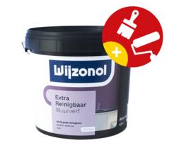 Wijzonol Muurverf Extra Reinigbaar Mat 1 liter