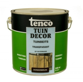 Tenco Tuindecor Transparant Donkerbruin 2,5 Liter