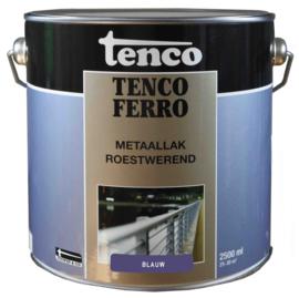Tenco Ferro Metaallak Roestwerend Zijdeglans Blauw 2,5 Liter