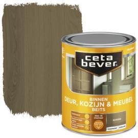 CetaBever Deur-, Kozijn- en Meubelbeits Schors Zijdeglans 750 ml