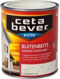 Cetabever Buitenbeits UV Dekkend Cremewit 714 750 ml