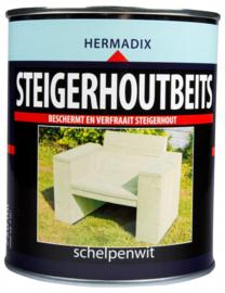 Hermadix Steigerhoutbeits Schelpenwit 750 ml