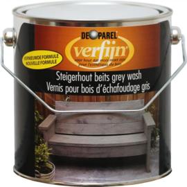 Verfijn Steigerhoutbeits Grey Wash 2,5 Liter