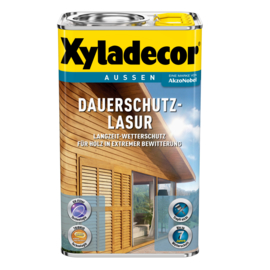 Xyladecor Dauerschutz Lasur Teak 2.5 Liter