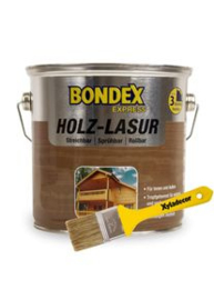 Bondex Express Holz-Lasur 785 Eiche Hell 2,5 Liter