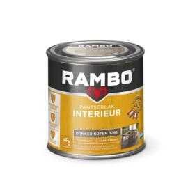 Rambo Pantserlak Interieur Donker Noten 0781 ZIJDEGLANS 250 ml