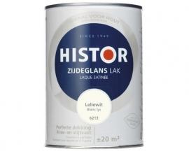 Histor Zijdeglans Lak 6213 Leliewit 1,25 Liter
