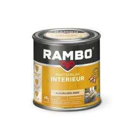 Rambo Pantserlak Interieur Kleurloos  0000 MAT 250 ml