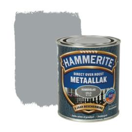 Hammerite Metaallak Hamerslag Grijs H118 750 ml