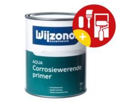 Wijzonol Aqua Corrosiewerende Primer Wit 1 Liter
