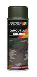 Motip Camouflagelak Mat RAL 6006 Grijs Olijgroen 400 ml