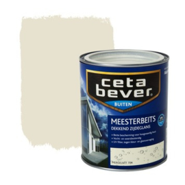 Cetabever Meesterbeits UV Dekkend Zijdeglans Mergelwit 704 750 ml