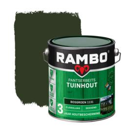 Rambo Pansterbeits Tuinhout Dekkend Bosgroen 1131 2,5 liter