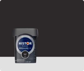 Histor Exterior Lak Hoogglans 6372 Zwart 750 ml