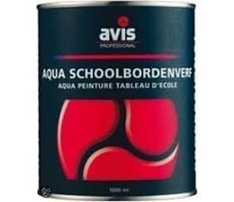 Avis Aqua Schoolbordenverf Rood 250 ml