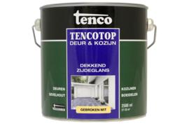 Tencotop Deur & Kozijn Dekkend Zijdeglans Gebroken Wit 2,5 Liter