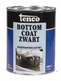 Tenco Bottom Coat Zwart 1 Liter