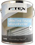 Fitex Synthetische Muurverf Wit 5 Liter