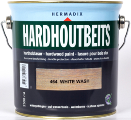 Hermadix Hardhoutbeits 464 White Wash 2,5 Liter