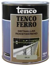 Tenco Ferro Metaallak Roestwerend Zijdeglans Grijs 750 ml