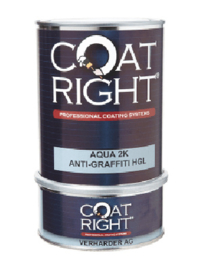 Coat Right Aqua 2K Anti-Graffiti Coating Glans 1 Liter