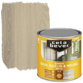 CetaBever Deur-, Kozijn- en Meubelbeits Grijs Zijdeglans 250 ml