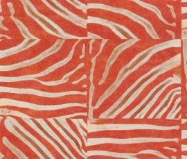 Rasch Popskin Behang nr. 498516 Zebra