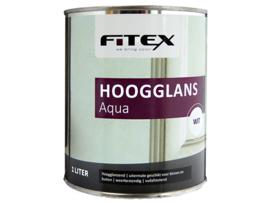 Fitex Hoogglans Aqua 1 Liter